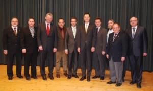 Nominierung des Landtagskandidaten Peter Hauk MdL im März 2010