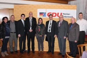 Ortsvorsitzenden- und Mandatsträgerkonferenz mit Frank Niebuhr von der CDU-Bundesgeschäftsstelle