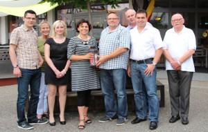 2014-07-25 Gruppenfoto neuer Vorstand Gemeindeverband Aglasterhausen