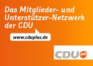 CDUplus - das Netzwerk der CDU